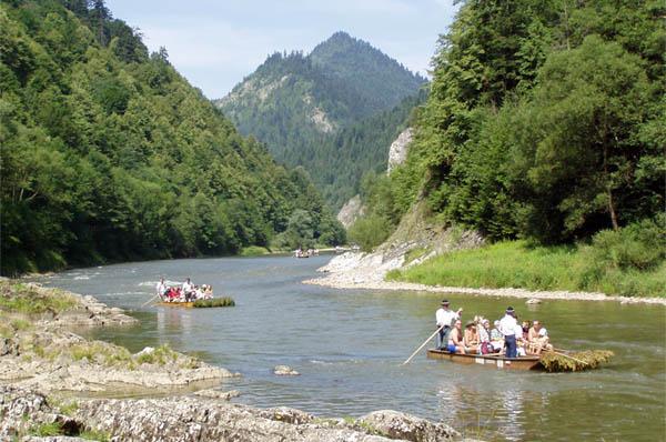 Splav rieky dunajec